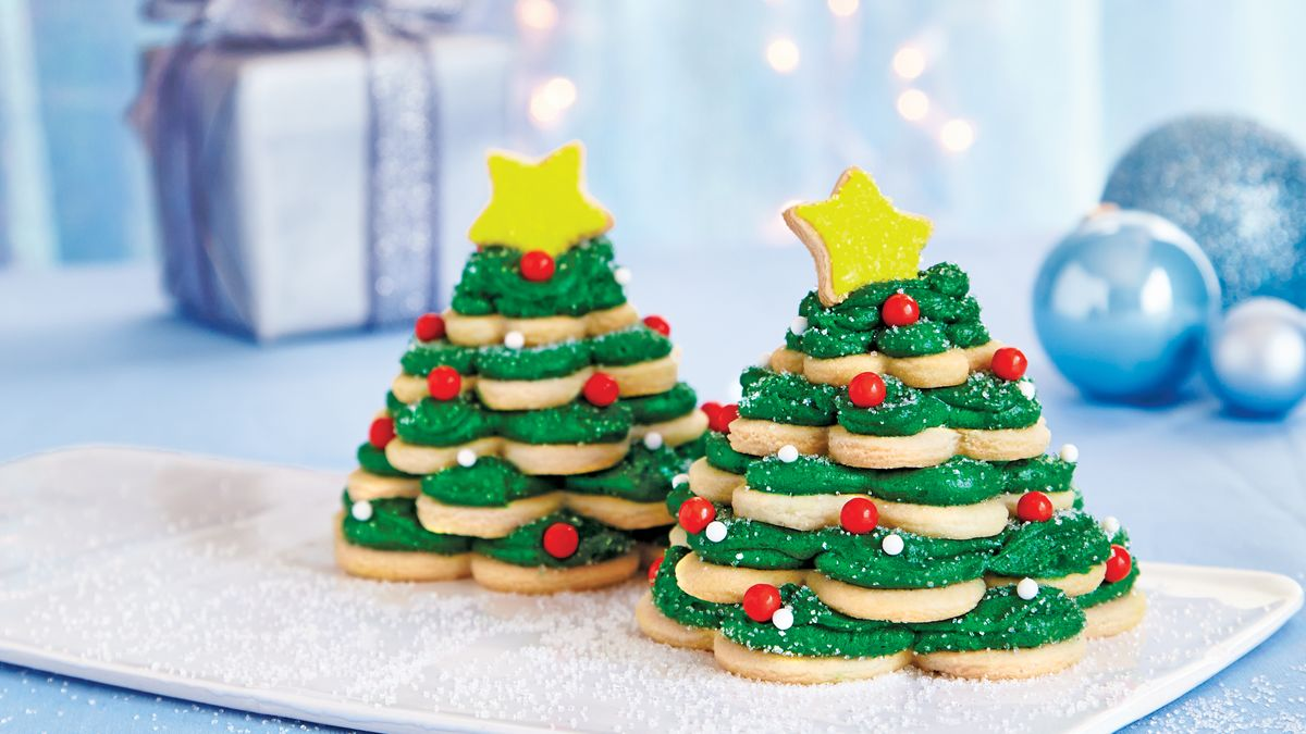 Pillsbury Shape Christmas Tree Sugar Cookies Pillsbury Com