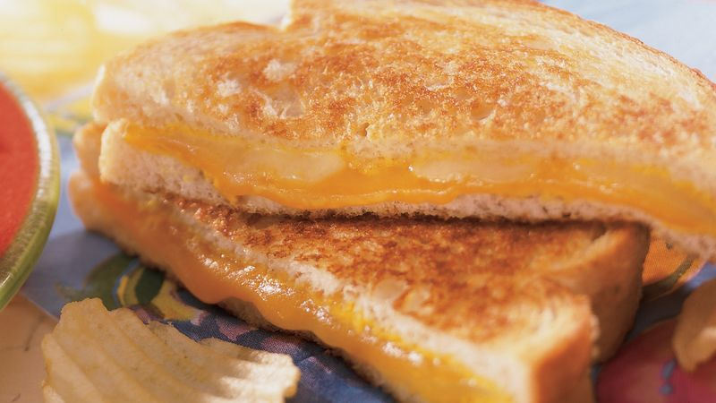 Grilled Two-Cheese Sandwich