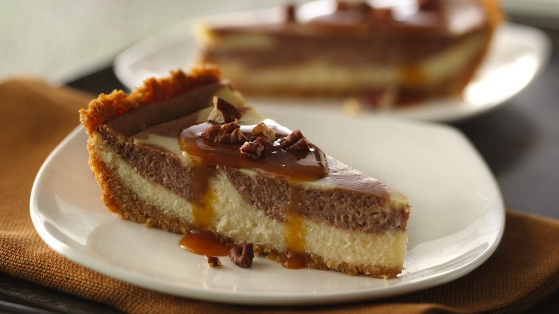 Turtle Cheesecake Recipe - Tablespoon.com
