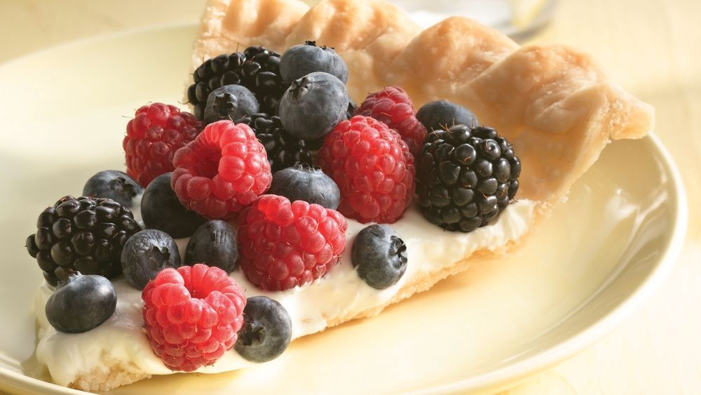 Easy Berry Fruit Tart
