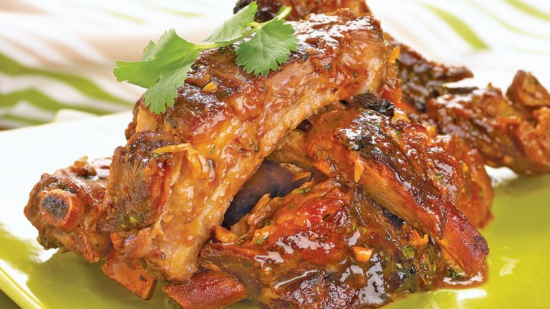 Slow-Cooker Thai Style Ribs