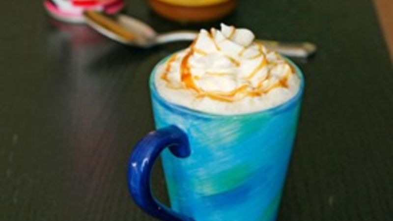 Hot Caramel Milk