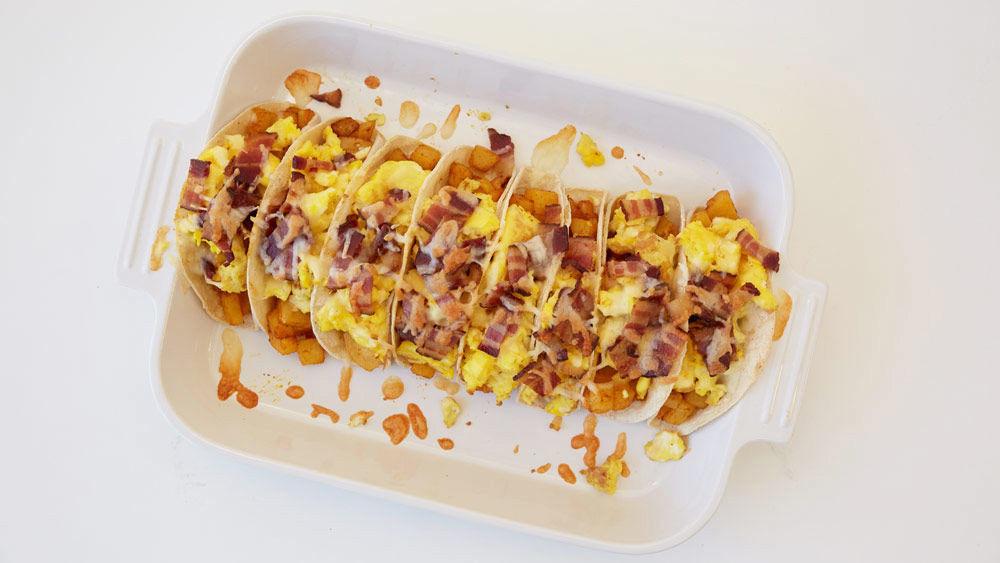 Oven-Baked Breakfast Tacos