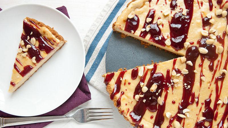 PB&J Cheesecake