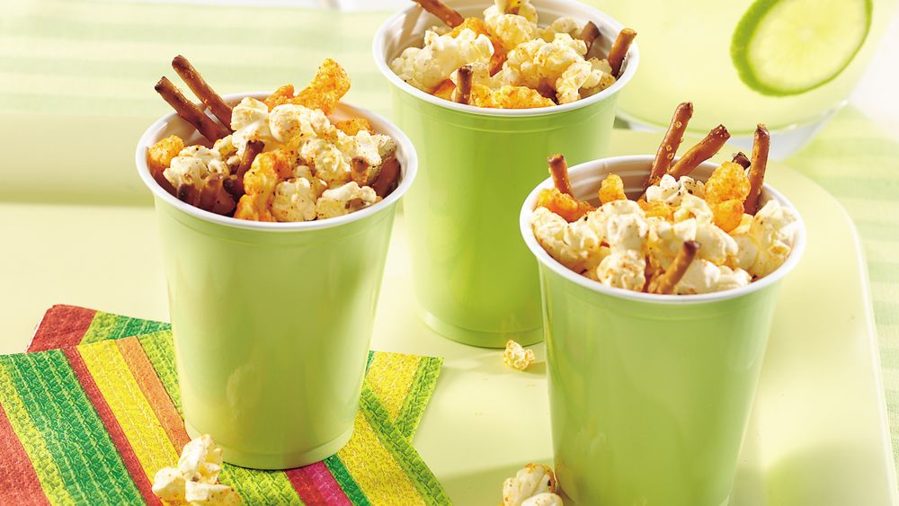 Peppy-Mex Popcorn Snack