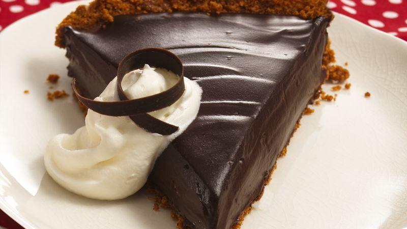 Creamy Dark Chocolate Pie
