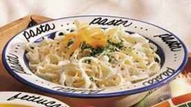 Fettuccine Alfredo (lighter recipe)