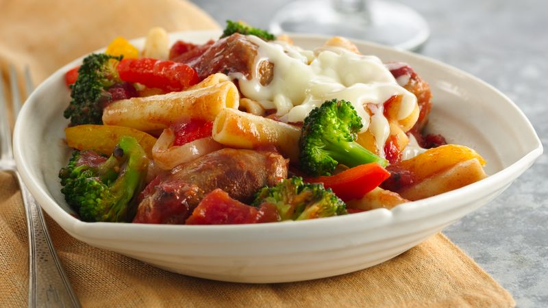Italian Sausage And Vegetable Pasta