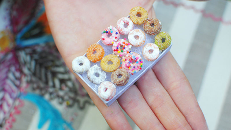 Mini Cheerio Donuts