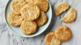 Easy Fall Leaf Snickerdoodle Cookies - The American Patriette | 155x276