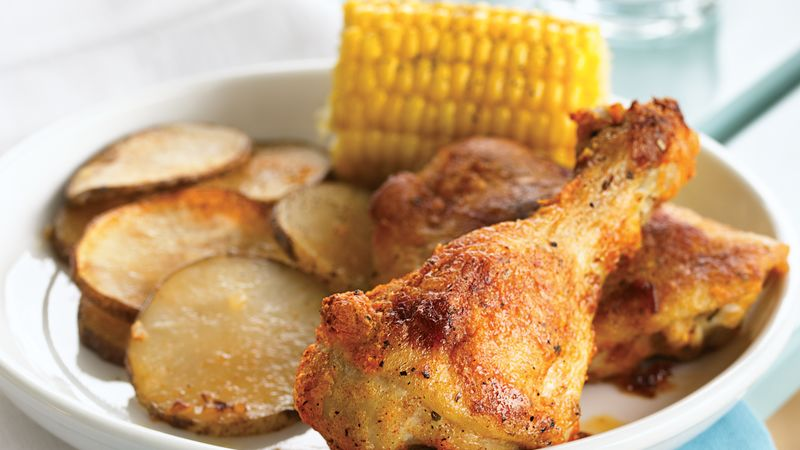 Oven Baked Chicken Recipe Bettycrocker
