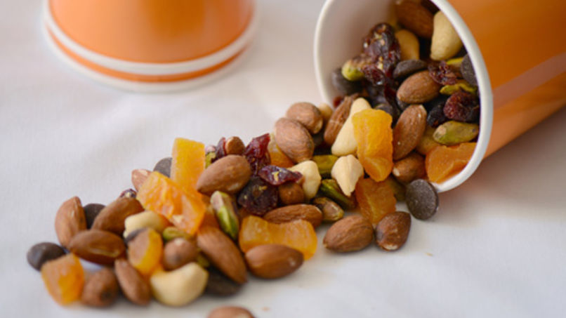 Papaya and Chocolate Trail Mix