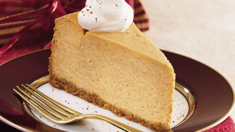 Light Pumpkin Cheesecake
