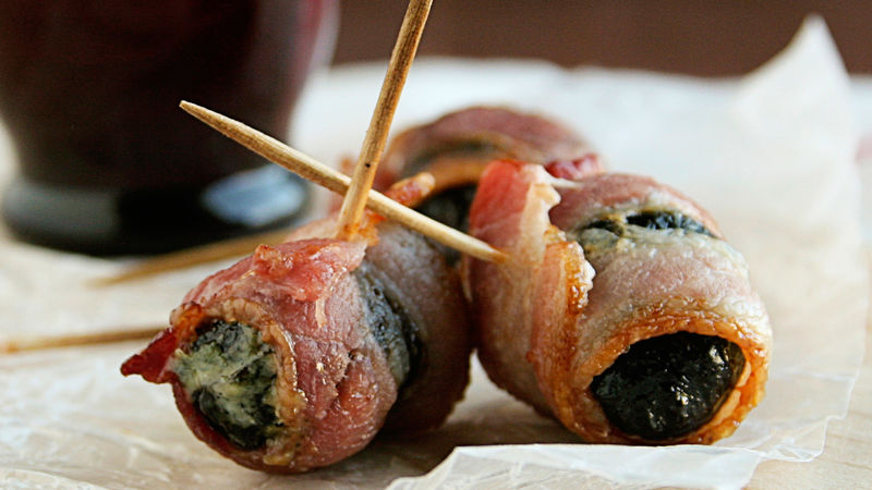 Devils on Horseback Appetizers