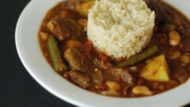Fasulia (Middle Eastern Lamb and Bean Stew)