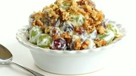 Grape Walnut Salad
