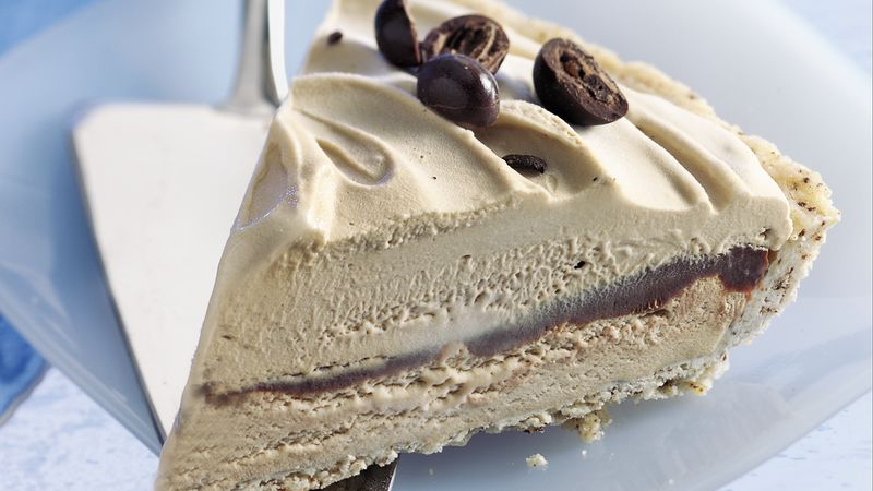"""Jamocha"" Ice-Cream Pie"