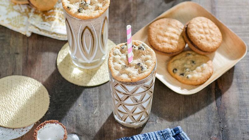 Boozy Cookie Milkshakes