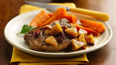 Slow-Cooker Pork Chops with Apple Chutney