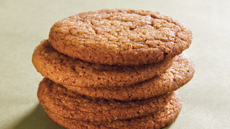 Spicy Ginger Cookies Recipe Bettycrocker Com