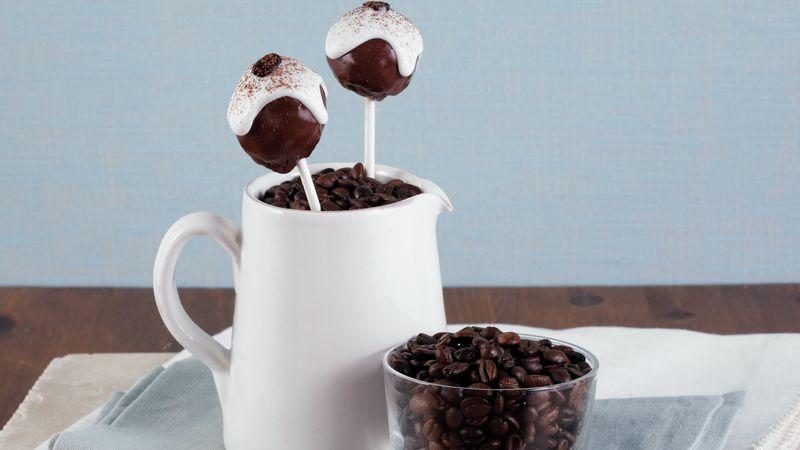 Cappuccino Cake Pops
