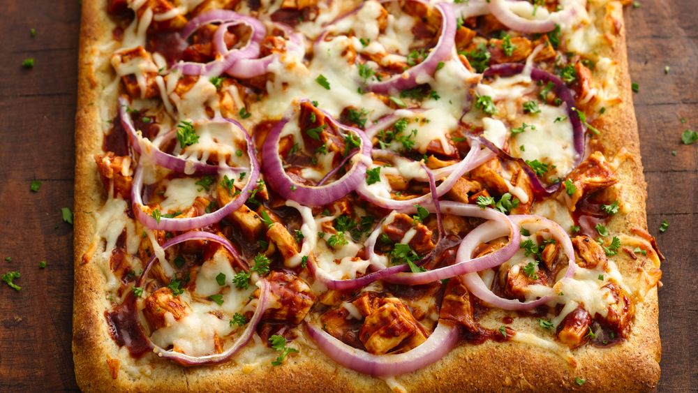 bbq chicken pizza recipe from. Black Bedroom Furniture Sets. Home Design Ideas