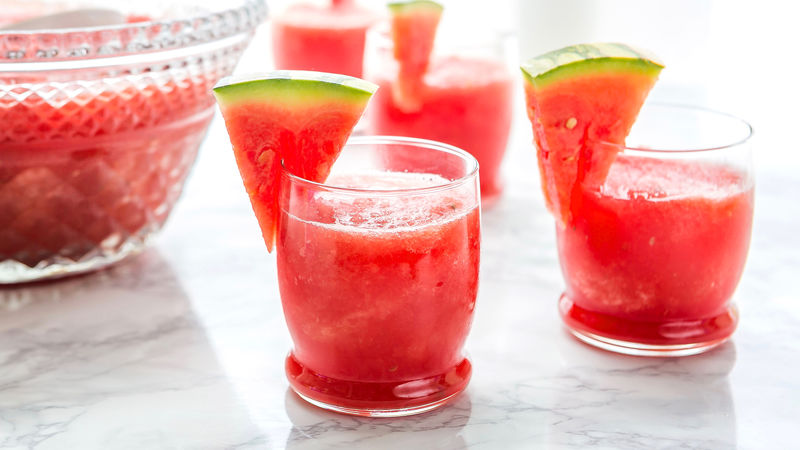 Barbotine au melon d'eau à la vodka