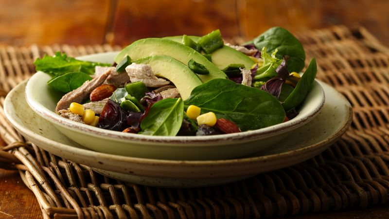 Macho Salad with Wheat Beer Vinaigrette