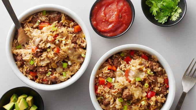 Tex-Mex Skillet Fried Rice