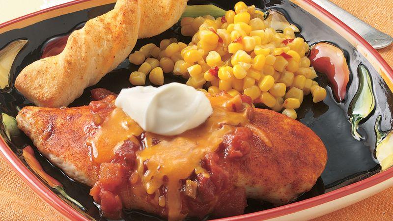 Quick Salsa Chicken