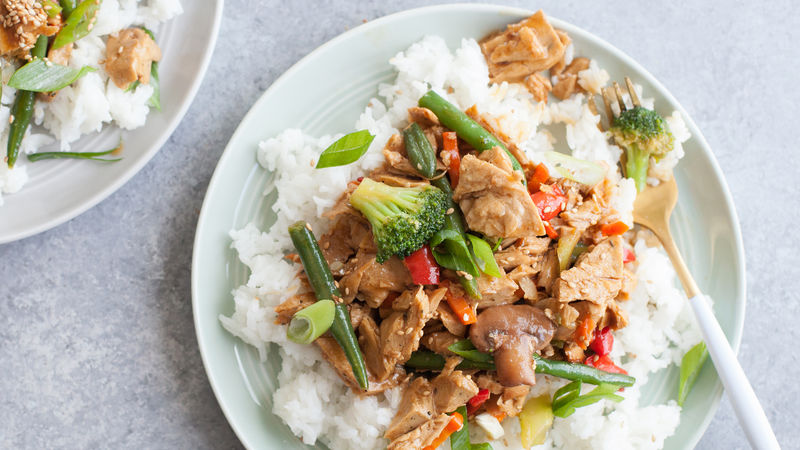Super-Fast Chicken Teriyaki Stir-Fry