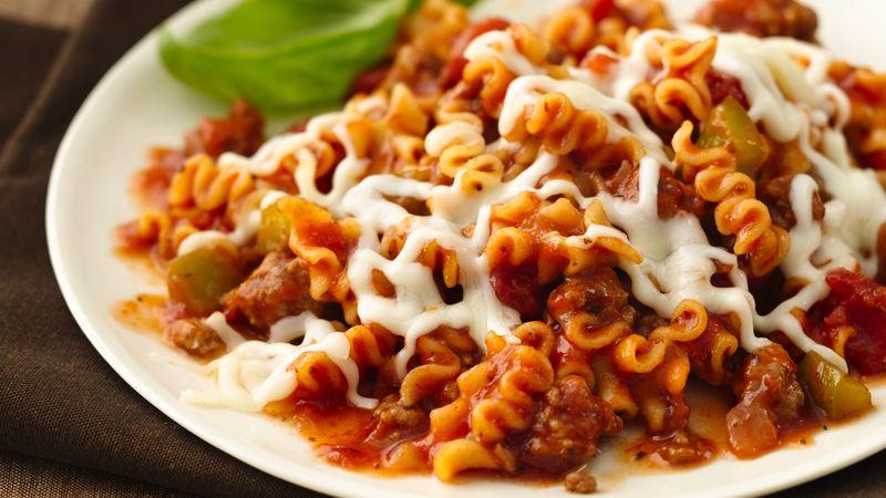 Skinny Skillet Lasagna