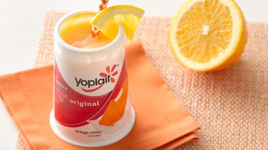 Orange Crème Drinkable Yogurt