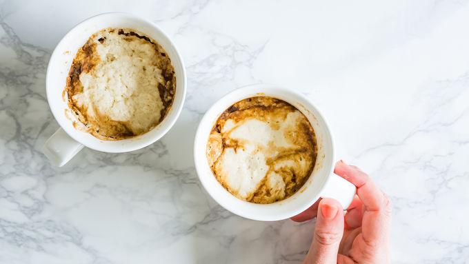 Mug Coffee Cake With Pancake Mix