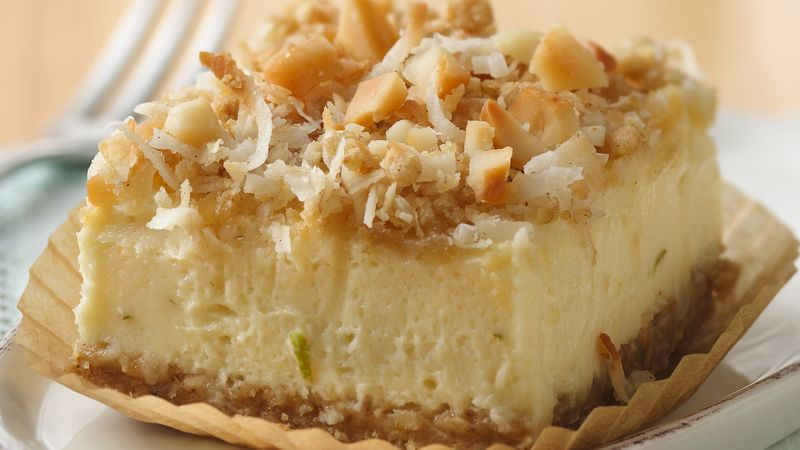 Key Lime Cheesecake Dessert Squares