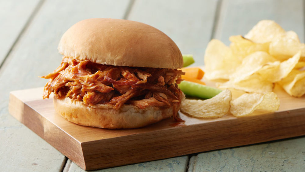 Slow-Cooker Pulled Pork with Root Beer Sauce