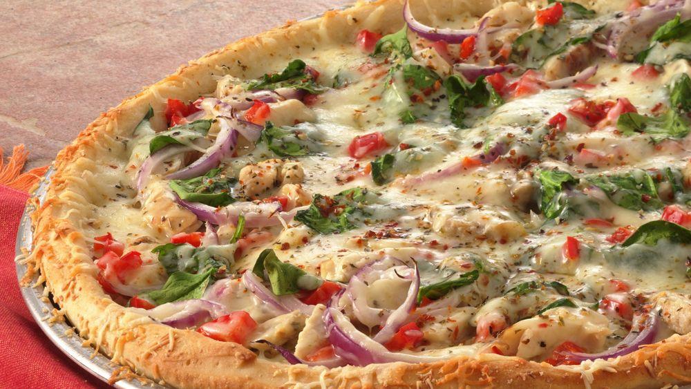 Chicken Pizza Primavera