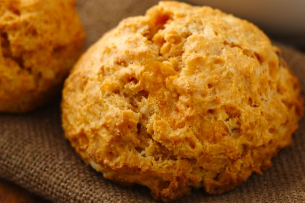 Chipotle Cheddar Corn Biscuits