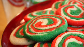 Holiday Swirl Cookies