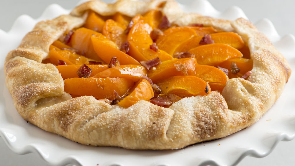Maple-Bacon and Apricot Tart