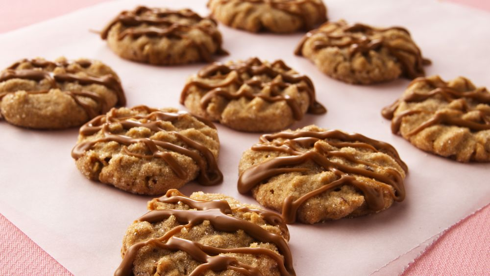 Maple-Nut Cookies with Maple Icing