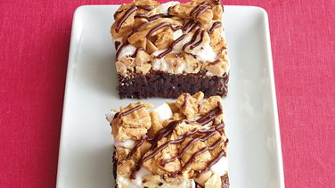 Peanut Butter Smash Brownies