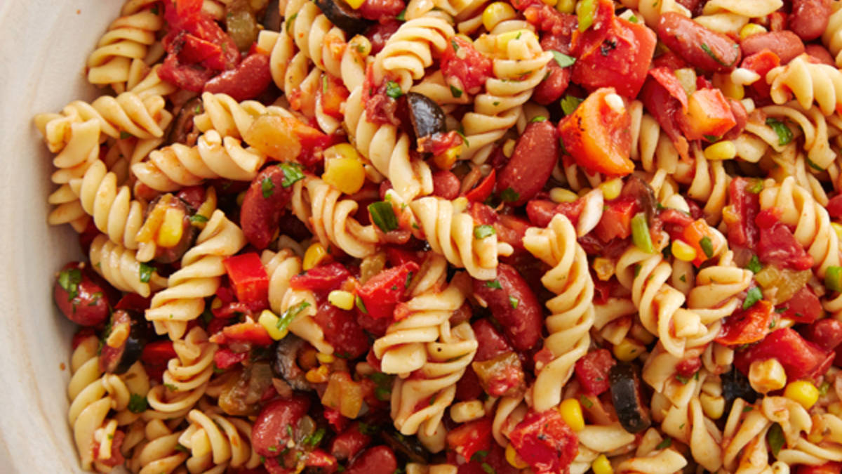 Spicy Mexican Pasta Salad