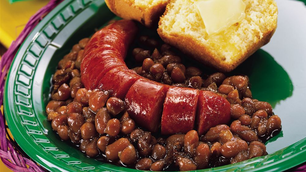 Boston Baked Beans and Franks