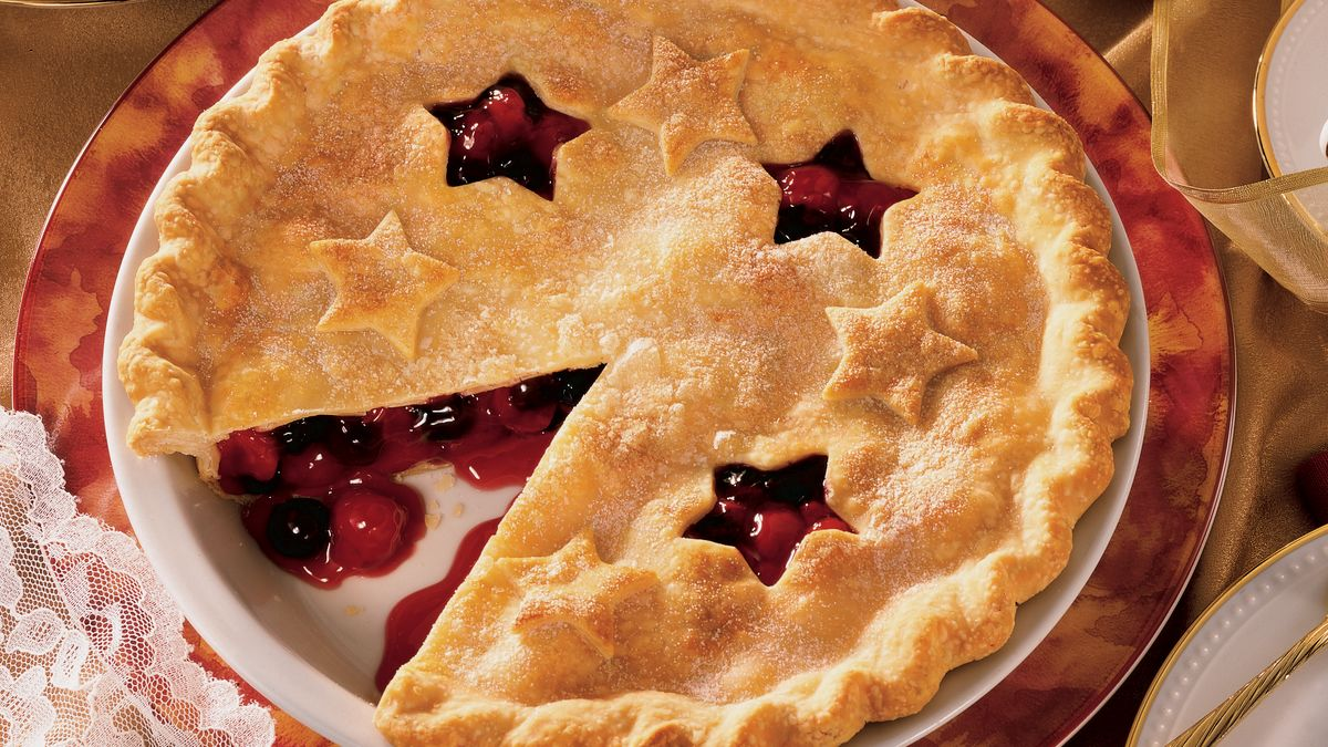 Easy triple berry pie recipes