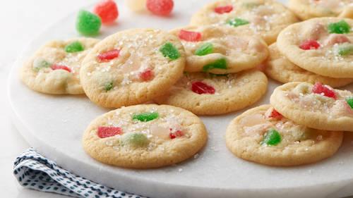 gumdrop cookies - Classic Christmas Cookies