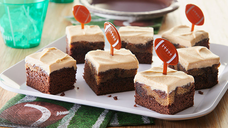 Peanut Butter Party Brownies