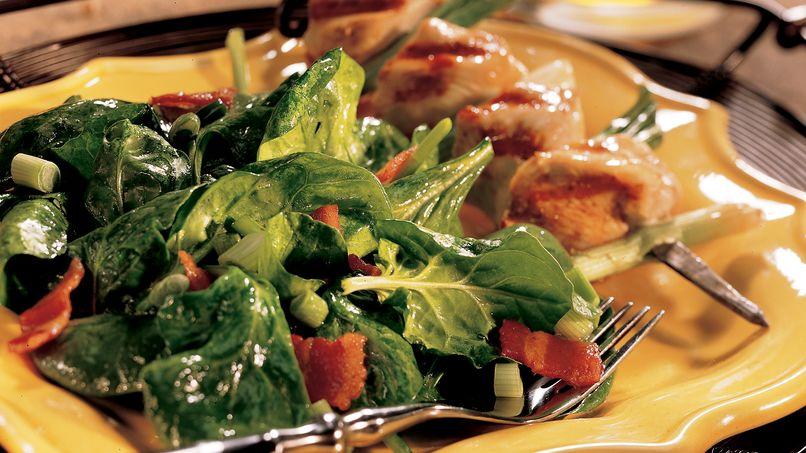 Bacon-Spinach Salad