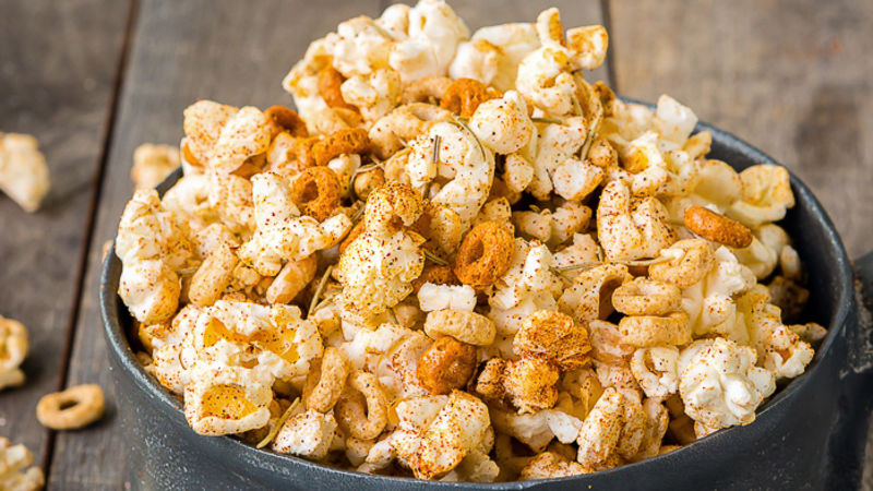Spicy Popcorn and Cheerios™