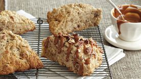 Pecan-Banana Bread Scones